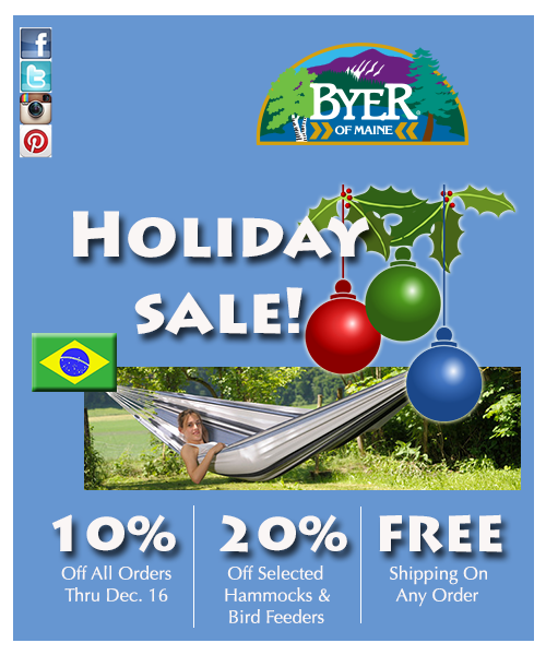 Holiday promotion ad